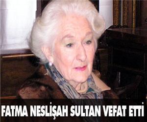 Fatma Neslişah Sultan
